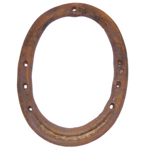 Country Antique Authentic Rusty Farm Used Horseshoe Good Luck Door Decoration