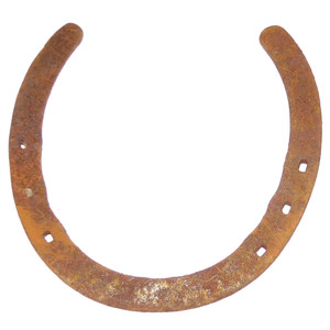 Antique Good Luck Horse Shoe Rusty Authentic Farm Used Horseshoe Industrial Farmhouse Decoration