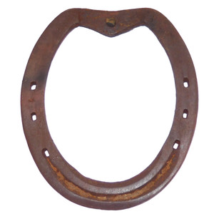 Antique Rusty Real Well Used Farm Estate Found Iron Horseshoe