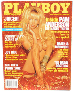 May 2004 - Playboy Magazine - Vintage Men's Adult Publication Back Issue