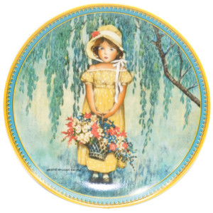 1986 Vintage Jessie Wilcox Smith Easter Limited Edition Knowles Collector Plate