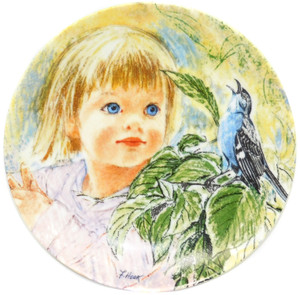 1986 Vintage Frances Hook Legacy Discovery Limited Edition Knowles Collector Plate