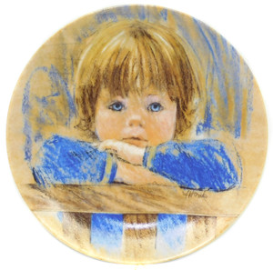 1985 Vintage Frances Hook Legacy Daydreaming Limited Edition Knowles Collector Plate