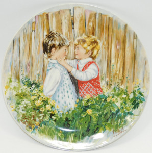 1981 Vintage Mary Vickers Be My Friend Wedgwood Limited Edition Collector Plate