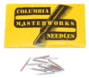 Vintage Columbia Masterworks Phonograph Needles Lot of 12 in Original Envelope Package