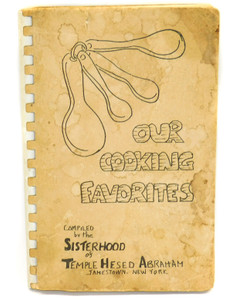 Our Cooking Favorites 1965 Temple Hesed Abraham Cookbook Jamestown, NY