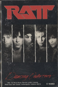 Ratt: Dancing Undercover - Audio Cassette Tape