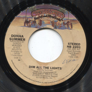 Donna Summer: There Will Always Be a You / Dim All the Lights - 45 rpm Vinyl Record