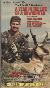 A Year in the Life of a Bowhunter w/ Dave Watson - Vintage VHS Home Movie Video Tape