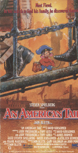 An American Tail - Vintage VHS Home Movie Video Tape