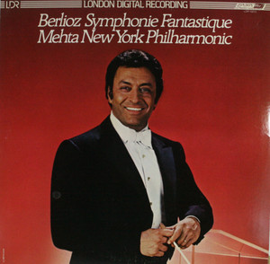 Mehta / New York Philharmonic: Berlioz Symphonie Fantastique -  LP Vinyl Record Album