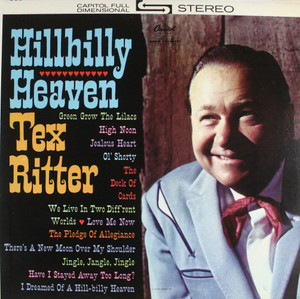 Tex Ritter: Hillbilly Heaven - LP Vinyl Record Album
