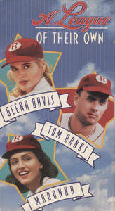 A League of Their Own - VHS Home Movie Video Tape