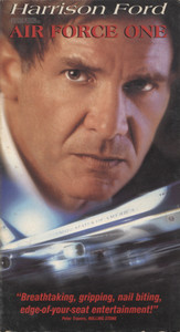 Air Force One - VHS Home Movie Video Tape