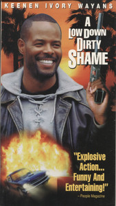 A Low Down Dirty Shame - VHS Home Movie Video Tape