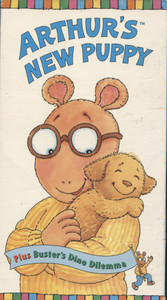 Arthur's New Puppy / Buster's Dino Dilemma - VHS Home Movie Video Tape