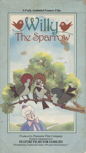 Willy the Sparrow - VHS Home Movie Video Tape