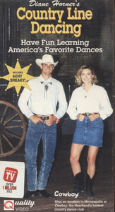Country Line Dancing - VHS Home Movie Video Tape
