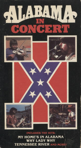 Alabama in Concert  - VHS Home Movie Video Tape