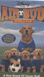 Air Bud, World Pup  - VHS Home Movie Video Tape
