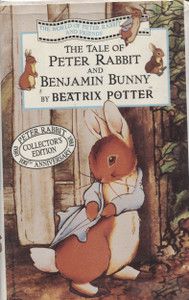 The Tale Of Peter Rabbit and Benjamin Bunny - VHS Home Movie Video Tape