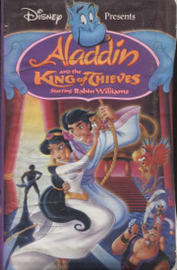 Aladdin And The King of Thieves  -  VHS Home Movie Video Tape