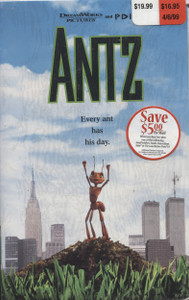 Antz - NOS Factory Sealed VHS Home Movie Video Tape