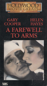 A Farewell to Arms - VHS Home Movie Video Tape
