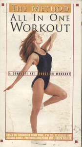 All in One Workout - VHS Movie Video Tape