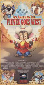 An American Tail, Fievel Goes West - VHS Movie Video Tape