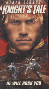 A Knight's Tale - VHS Movie Video Tape