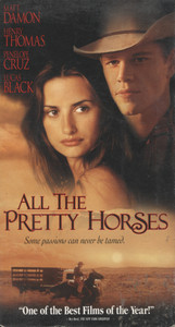 All the Pretty Horses - VHS Movie Video Tape