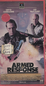 Armed Response - VHS Movie Video Tape