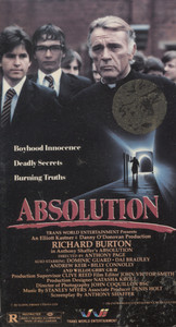 Absolution - VHS Movie Video Tape