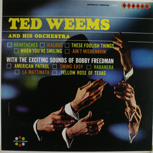 Ted Weems and His Orchestra: With the Exciting Sounds of Bobby Freeman - LP Vinyl Record Album