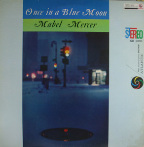 Mabel Mercer: Once in a Blue Moon - LP Vinyl Record Album