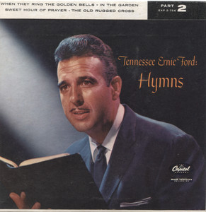 """Tennessee Ernie Ford: Hymns, Part 2 - 7"""" 45 rpm Vinyl Record & Picture Sleeve"""