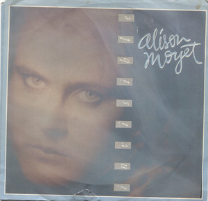 """Alison Moyet: Invisible / Hitch Hike (w/ Darts) - 7"""" 45 rpm Vinyl Record & Picture Sleeve"""