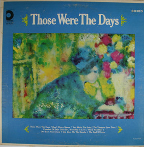 The Young Lovers: Those Were the Days - LP Vinyl Record Album