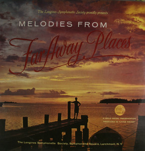 Various Artists: Melodies from Far Away Places - LP Vinyl Record Album