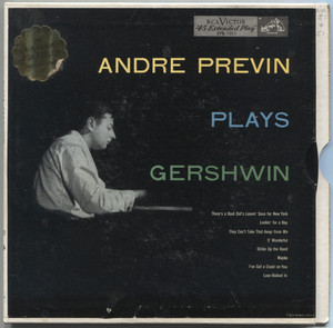 """Andre Previn: Plays Gershwin - (2 Record Set) 7"""" EP 45 rpm Vinyl Record & Picture Sleeve"""