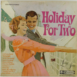 Living Strings, Voice, Brass: Holiday for Two - LP Vinyl Record Album