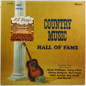 101 Strings: Country Music Hall of Fame - Vintage LP Vinyl Record Album