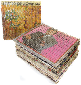 Lot 20 Perforated Cardboard LP Record Covers Shipping Cushions for Vinyl Records