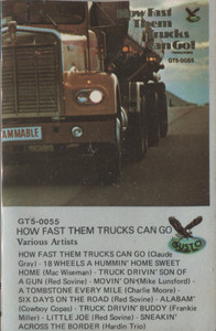 Various Artists: How Fast Them Trucks Can Go - Vintage Audio Cassette Tape