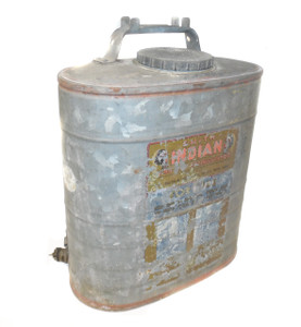 Vintage D.B. Smith Indian No. 90 Fire Extinguisher Backpack Style