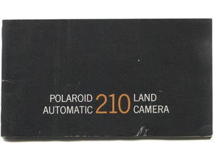 Vintage Polaroid Automatic 210 Instant Land Camera Book Owner's Manual Booklet