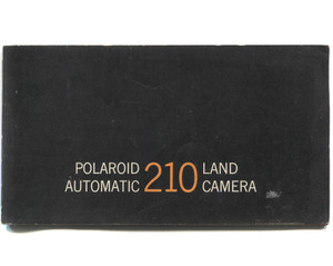 Vintage 1966 Polaroid Automatic 210 Land Camera Book Owner's Manual Booklet