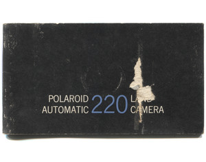 Vintage 1967 Polaroid Automatic 220 Land Camera Book Owner's Manual Booklet