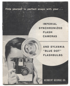 Vintage Imperial Synchronized Flash Cameras Book Owner's Manual Booklet